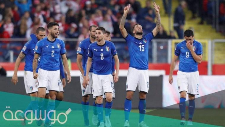 كم مرة فازت ايطاليا بكاس امم أوروبا