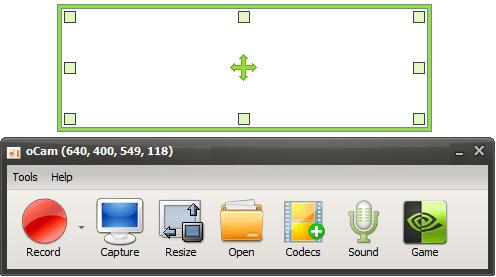 ocam screenshot 1