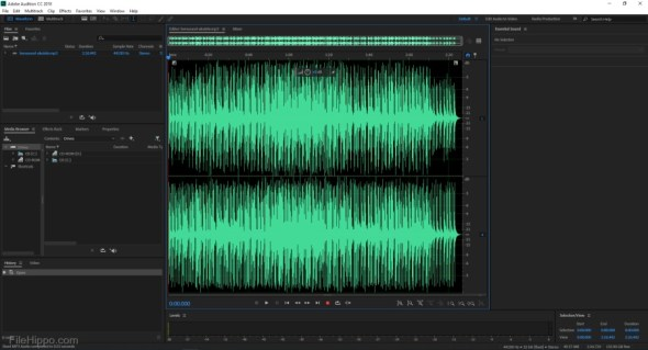 Adobe Audition CC 2018 v11.1.1 [Full] ถาวร ตัดต่อปรับแต่งเสียง