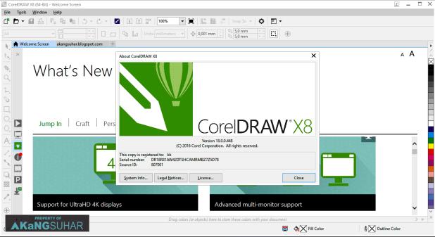 โหลด CorelDRAW X8 [Full] ตัวเต็ม +วิธีติดตั้ง โปรแกรมออกแบบกราฟิก