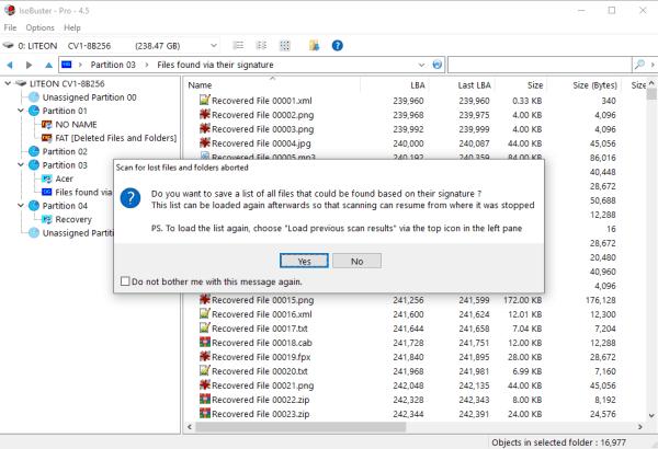 IsoBuster Pro 4.6 [Full] ถาวร โปรแกรมกู้ข้อมูลจากแผ่น CD, DVD