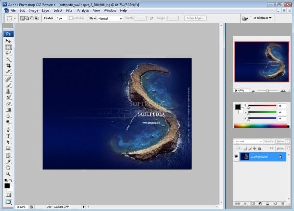 Photoshop CS3 Portable Screenshot