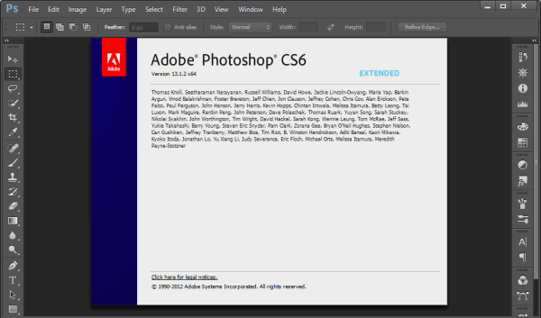 Photoshop CS6 Portable [Full] ถาวร แตกไฟล์ใช้ได้เลย ไม่ต้องติดตั้ง