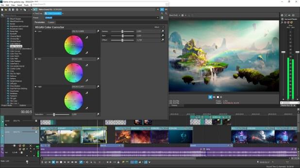 MAGIX Vegas Pro 16.0.0.424 [Full] ถาวร โปรแกรมตัดต่อวีดีโอมืออาชีพ