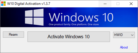 W10 Digital Activation v1.4.1 [Full] Activate Win10 ถาวร ออนไลน์