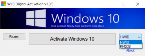 Activate Win10 ถาวร ออนไลน์