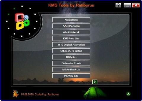 KMS Tools Portable Screenshot