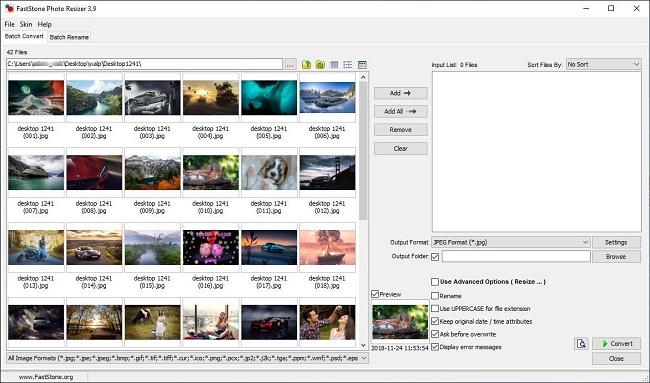 FastStone Photo Resizer 4.3 Corporate [Full] โปรแกรมย่อ/ขยายรูป