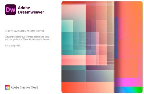 Adobe Dreamweaver 2021 Logo