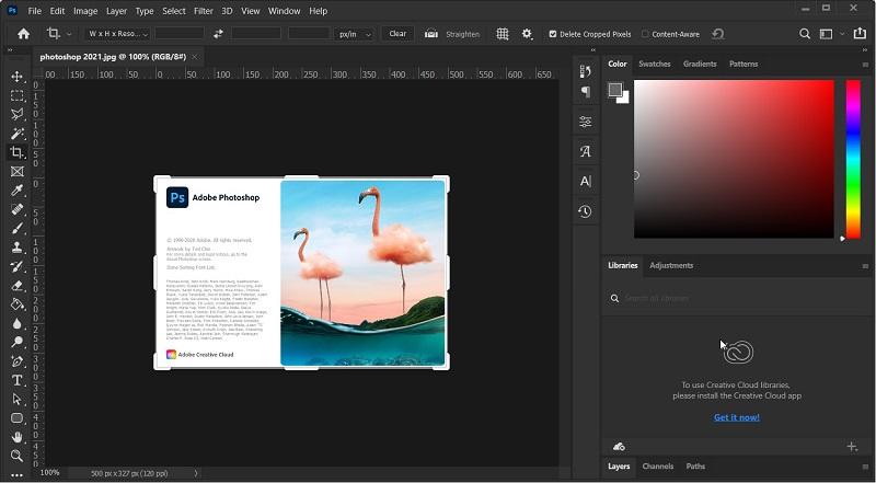 Photoshop 2021 screenshot
