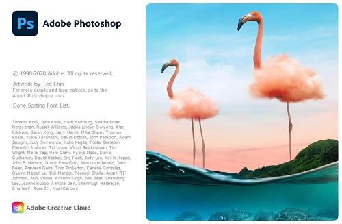 Adobe Photoshop 2021 logo