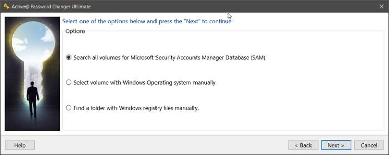 Active Password Changer Screenshot