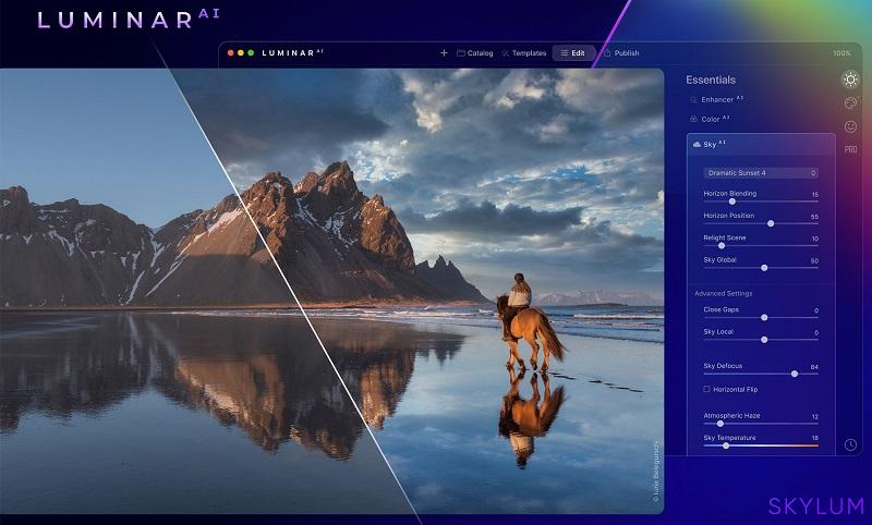 Luminar AI Screenshot