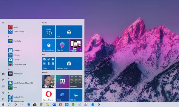 Windows 10 1909 Screenshot