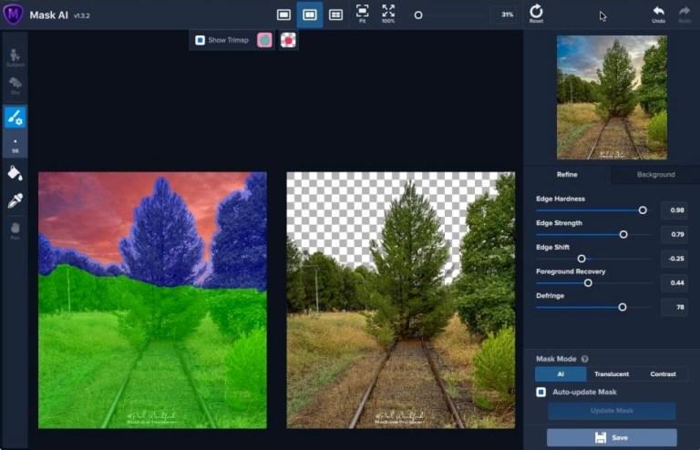Topaz Mask AI Screenshot