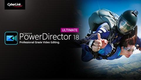 PowerDirector 18 Logo