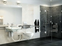 Adjustable Bathroom Accessories by Pressalit Care