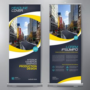 Roll-Up Druck, Roll-Up Design