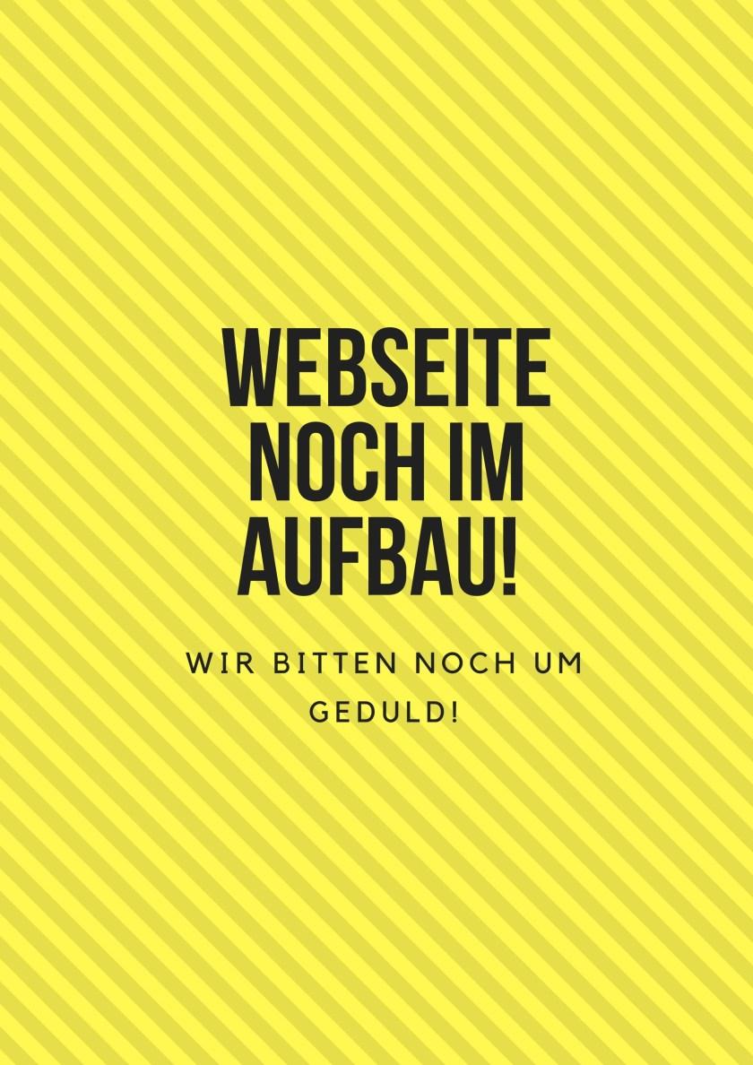 Webseite noch im Aufbau!