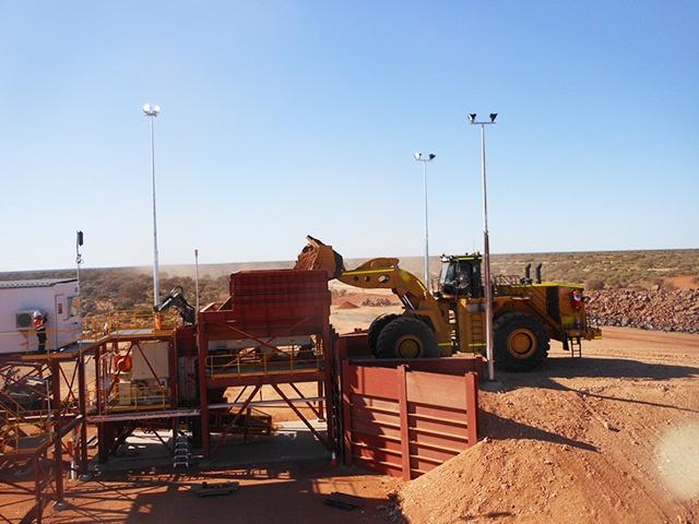 MXP4 Aiustralian Fixed Iron Ore Plant
