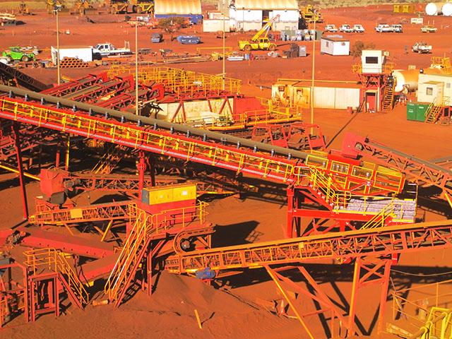 MXP2 Iron ore MAX Plant mining project Australia