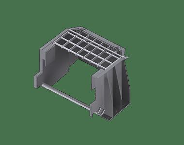 MAX Plant jaw feed chute