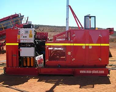 MAX Plant power pack crushing and screening australia mine