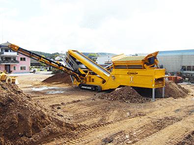Striker Crushing & Screening - Striker SQ1252 MAX Plant rental
