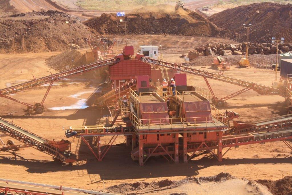 crushing and screening MAX Plant Australia