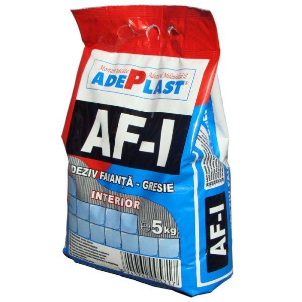 Adeziv pentru gresie si faianta, ADEPLAST AF-I 5 kg pentru interior