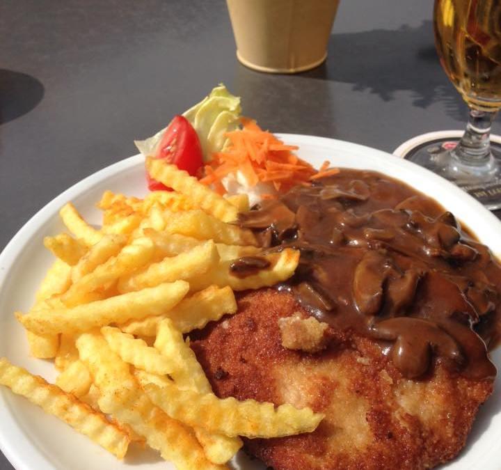 Schnitzel »Jäger Art«