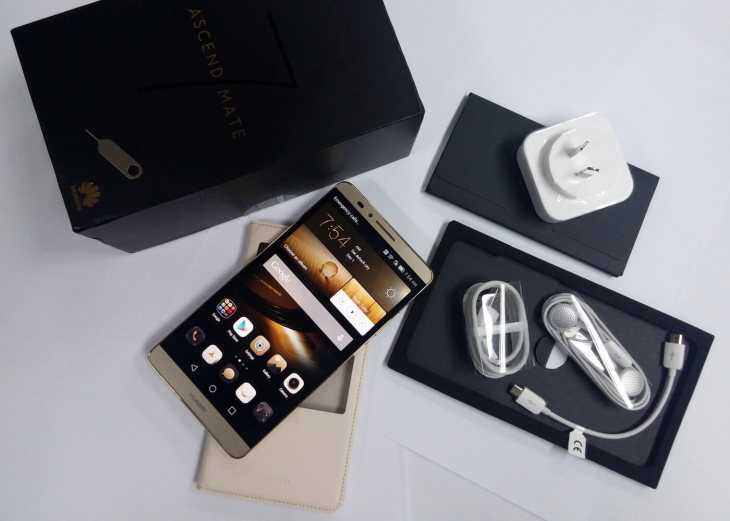 Unboxing Huawei Ascend Mate7