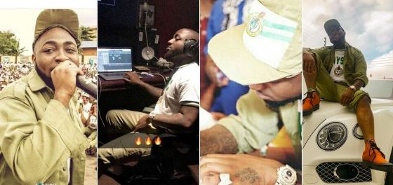 Davido cancels US tour due to NYSC commitments