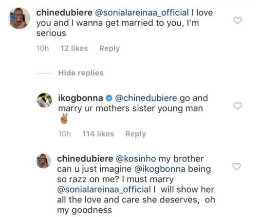 Ik Ogbonna replies man who proposed to his estranged wife, Sonia Morales