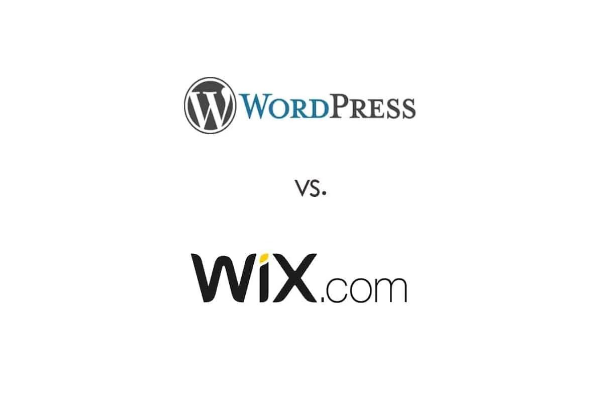 Wordpress vs. WIX