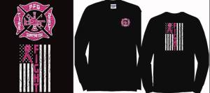 The Plymouth Fire Department Is Selling Breast Cancer Awareness