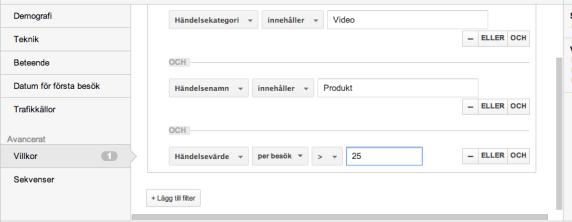 Analysera video
