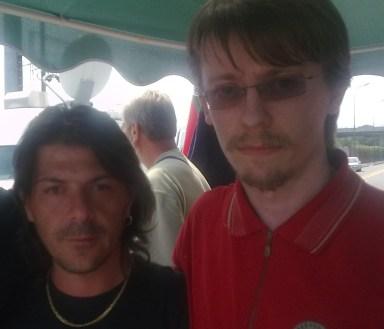 Con gli operai INNSE, Milano 2009