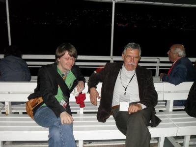 Con il prof. Cüneyt Akalın, membro del CC del Partito dei Lavoratori di Turchia