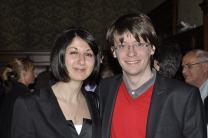 Con Sara Demir, consigliera comunale PPD