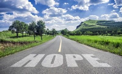 ポジティブ 希望を持つイメージ