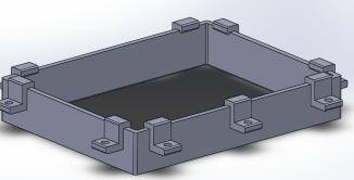 Resin VAT Prototype SLA
