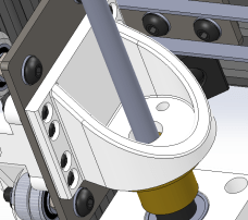 Updated 3D Printed Z Axis Acme Nut Mount