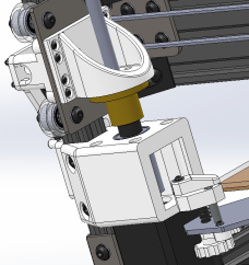 Updated 3D Printed Z Axis Coupler Collar and stepper housing