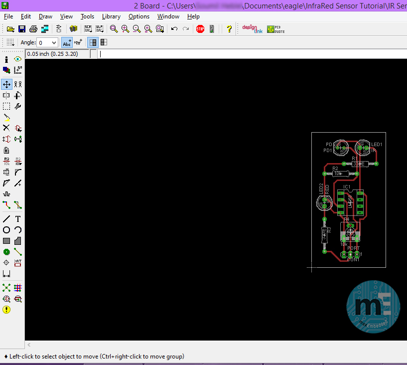 PCB Design using EAGLE – Part 3: Using the EAGLE Layout Editor ...