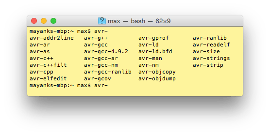 Setting up AVR-GCC Toolchain on Linux and Mac OS X » maxEmbedded