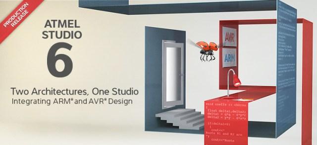 Atmel Studio 6 Banner
