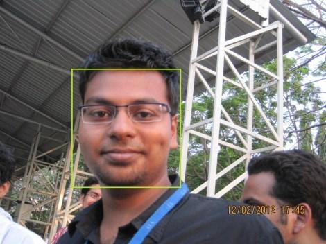 Mayank's Face