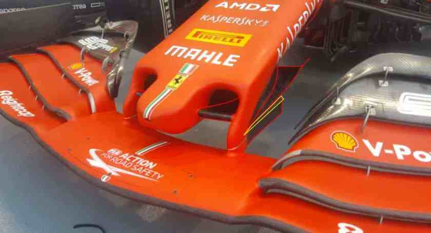 Ferrari 2020 novità ala