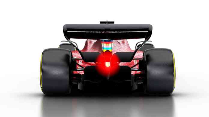 2021 F1 Car released on Oct 31 2019 rear angle view diffuser rear wing Photo Formula 1
